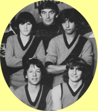 Michael Deed, John Redfern, Ricci Vicenti (back) and Marty Allison (front left)