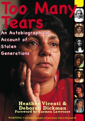 Heather Vicenti's Autobiography front cover